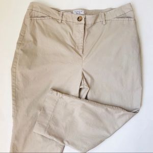 Charter Club Pants Shop Classic Fit Khaki Capris